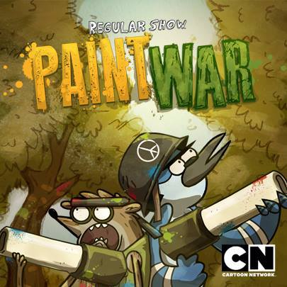 play Regular Show Paint War