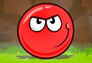 play Red Bounce Ball 5